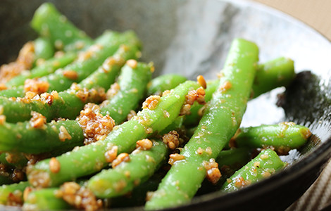 加熱しても野菜の緑が変色しにくい